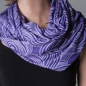 Personalized Infinity Scarf Adult