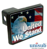 Personalized Trailer Hitch Cover - 2 inch Post Plastic