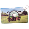 Personalized Golf Towel - 7 1/2 x 13 Photo Golf Towel Double Sided with Grommet