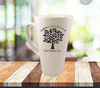 Custom Tall Latte Mug - 17oz Latte Mug