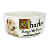 "Personalized Pet Bowl - Small 6""x2.5"" Ceramic"