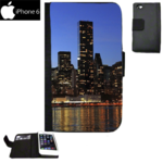 Custom iPhone 6 and 6S Case Wallet - Black