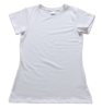 (Small Print) Ladies Slim Fit Short Sleeve T-Shirt - Size: L