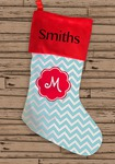 "17"" Personalized Holiday Stocking"