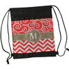 Premium Drawstring Bag with 2 Zipper Pouches - 14 inches x 17 inches