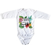 Baby Long-Sleeve Bodysuit - All-Over Print Onesie