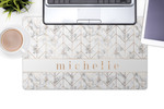 Personalized Desk Pad- Printed Neoprene Desk Mat 14 x 24