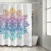 "Personalized Shower Curtain 70"" x 72"""