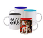 Custom Photo Coffee Cup, Two Tone 11 oz.