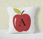 Personalized Decorative Pillow Cover 12 inch Square- Throw Pillow with Zipper Closure