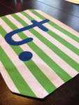 Personalized Placemat Fabric 12x17 Double Sided Washable