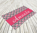 "Economy Light Weight Personalized Photo Beach Towel - 28"" x 56"" Economy Beach Towel"