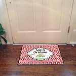 Custom Floor Mat 18x27- Durgan Backed 20oz Loop with Black edges Door Mat