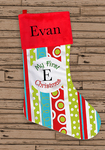 "21"" Personalized Holiday Stocking"