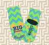 "Personalized Youth ""Ankle"" Socks - Size: 6-11"