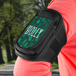 Personalized Fitness Armband - Universal Cell Phone Holder