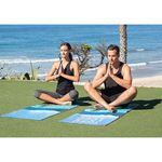 "Personalized Yoga Towel - 24"" x 68"" Fitness Towel"