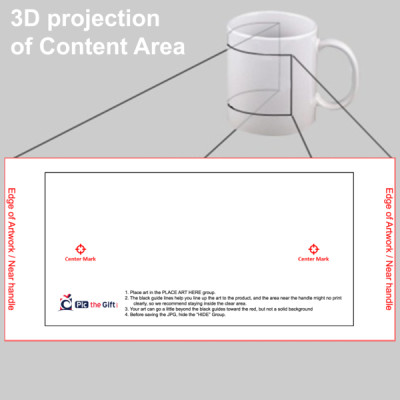personalized color changing photo mug black 11 oz pic the gift. Black Bedroom Furniture Sets. Home Design Ideas