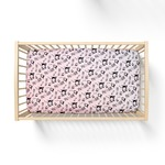 "Custom Crib Sheet - 28"" x 52"" Standard Jersey Fitted Crib Sheet"