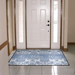 Custom Floor Mat - 36x60 Durgan Backed 20oz Loop Door Mat with Black edges