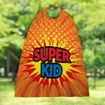 Custom Super Hero Cape - Personalized Kids Cape
