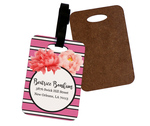 Personalized Luggage Tag - Custom Print Single-Side