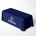 Custom Printed Tablecloth - 8ft Personalized Table Throw