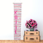 "Personalized Growth Chart - 48"" Tall Fabric Youth Height Chart"