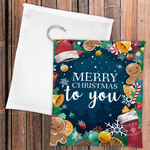 "Personalized Santa Sack 21.5""x25"" Poplin Gift Bag with Drawstring Closure - Gift or Laundry Bag"
