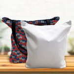 "Custom Canvas Tote Bag - 18"" x 18"" Double-Lined Custom Tote"