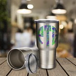 Personalized 30oz Insulated Steel Travel Mug - Stainless Steel Insulated Travel Thermos