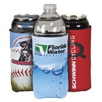 Personalized 16oz. Water Bottle & Can Koozie - Custom Drink Koozie