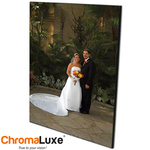 Personalized Photo Wood Wall Panel - 11 x 14  x 5/8 Black Edge