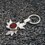 Custom Fidget Spinner Keychain - Hot Wheel
