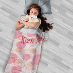 Personalized Blanket Sleeping Bag - Small Minky Slumber Bag