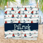 "Oversized Ultra-Premium Personalized Beach Towel - 35"" x 65"" Beach Towel"