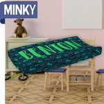 Personalized Changing Bed Cover - Minky Changing Table Cover
