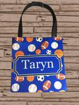 Personalized Car Back Seat Bag - Large - 11x15