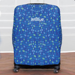 "Custom Luggage Cover - 25"" x 27"" Personalized Suitcase Cover"