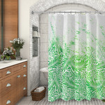 "Personalized Shower Curtain 70"" x 90"" - Extra-Large Custom Shower Liner"