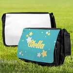 "Personalized Messenger Bag - Large 15"" x 11.5"" Custom Tote Bag"