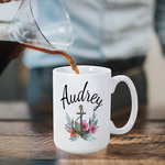 Personalized Photo Coffee Mug - 15 oz. Grande Custom Coffee Cup