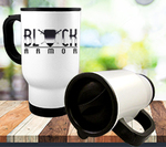 Personalized Photo Travel Mug - 14 oz. White