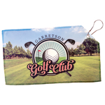 Economy Personalized Golf Towel - 7 1/2 x 13 Photo Golf Towel Double Sided with Grommet