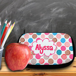 "Custom Cosmetic Bag - 10"" x 6"" Neoprene Cosmetic / Pencil Pouch with Zipper"