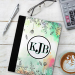"Personalized Notebook Faux Leather Case 7""x9"""