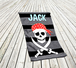 "Premium Personalized Beach Towel - 30"" x 60"" Beach Towel"