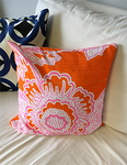 "Personalized Minky Decorative Pillow Cover 12"" x 12"" - Throw Pillow with Zipper"