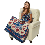 "Personalized Woven Blanket - 54"" x 60"" Tapestry Throw"