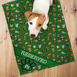 Personalized Minky Pet Blanket - 30 inches x 40 inches Super Soft Fleece